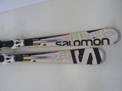 Ski Rocker Salomon 24 HRS MAX mit Bindung, (Z Wert 12,0) 162